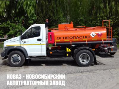Автотопливозаправщик АТЗ  ГАЗон NEXT 5,3