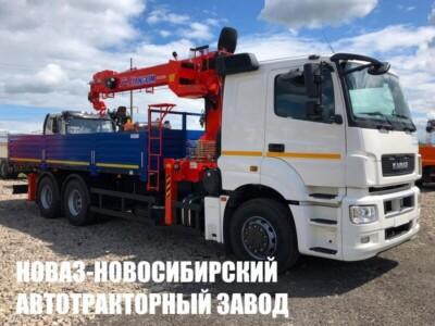 Бортовой КАМАЗ 65207 с КМУ Kanglim KS1256G-II TOP