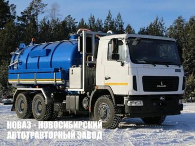 МВС-14 САМСОН (PVT-280 ) НА ШАССИ МАЗ-631226-525-042 АВТОЦИСТЕРНА ВАКУУМНАЯ