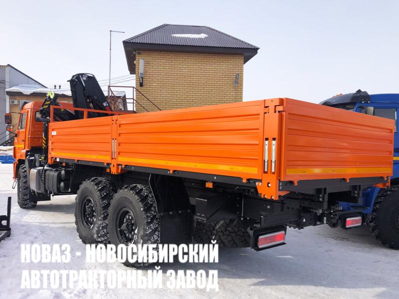Бортовой КАМАЗ 43118 с КМУ HIAB X-CL 16B-2 (Фото 3)