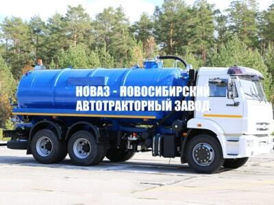 МВ-15 (ТЛ740) НА ШАССИ КАМАЗ-65115 ВАКУУМНАЯ (МОДЕЛЬ 4680А3-40)