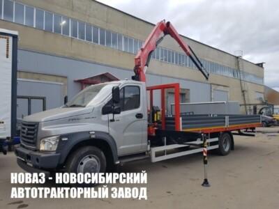 КМУ FASSI F65B.0.22 на базе бортового ГАЗ- C41R33 Газон NEXT