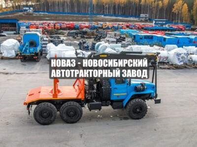 ЛЕСОВОЗ С МАНИПУЛЯТОРОМ VM10L74 УРАЛ 5557-1151-60Е5
