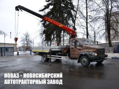 ГАЗ — С41R13  c крано-манипуляторной установкой ИНМАН ИТ-80