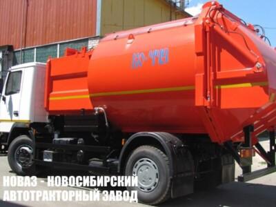 Мусоровоз с боковой загрузкой КО-449-33