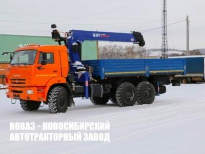 Бортовой КАМАЗ 43118 с КМУ DongYang SS1956 (ЕВРО 5) новый