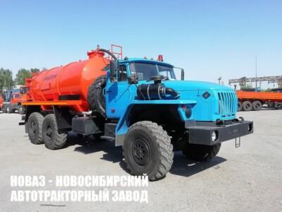 Ассенизатор МВ-10 на базе Урал 4320-1951-60 модели 6640