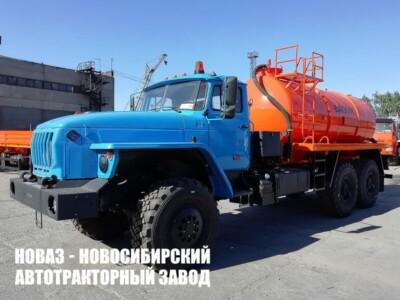 Ассенизатор МВ-10 на базе Урал 4320-1951-72 модели 6645