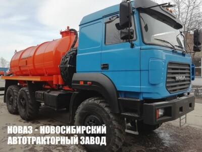 Вакуумная машина МВ-10 на базе Урал 5557-4551-80 модели 6644