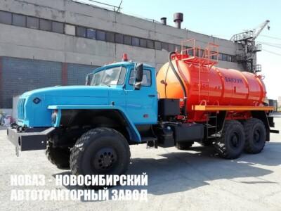 Ассенизаторская машина МВ-10 на базе Урал 4320-1951-60 модели 7373