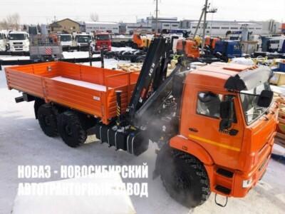 Бортовой КАМАЗ 43118 с КМУ HIAB X-CL 16B-2