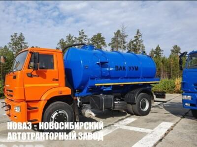 МВ-10 НА ШАССИ КАМАЗ-53605-773950-48 ВАКУУМНАЯ