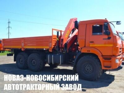 Бортовой КАМАЗ 43118 с КМУ Palfinger INMAN IM 150N (ЕВРО 5) новый