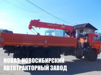 Бортовой КАМАЗ 43118 с КМУ Palfinger INMAN IT-150
