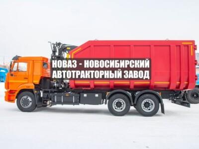 АВТОМОБИЛЬ САМОСВАЛ С КМУ VM10L74М (ЛОМОВОЗ) КАМАЗ 65115-48