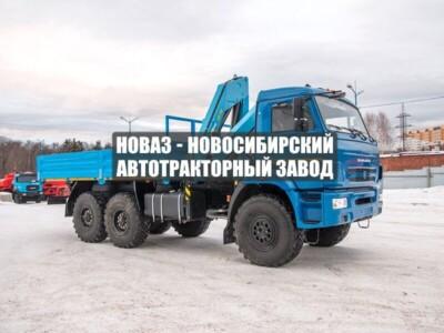 БОРТОВОЙ С КМУ ИМ-150 КАМАЗ 43118