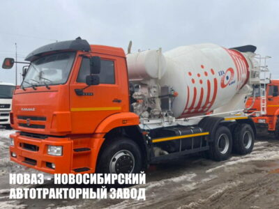 Автобетоносмеситель 58149Z (5814Z9) на шасси КАМАЗ 6520 9 м3 (ЕВРО 5) новый