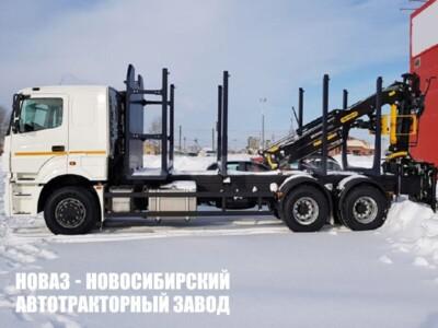 Сортиментовоз на платформе VLT с ГМУ VM10L74 на шасси КАМАЗ 65207 (ЕВРО 5) новый