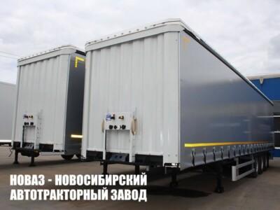 Полуприцеп шторный CTTM (ЦТТМ) Cargoline 9322-0050 новый