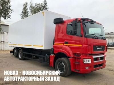 Изотермический фургон на шасси КАМАЗ 65208 (ЕВРО 5) новый