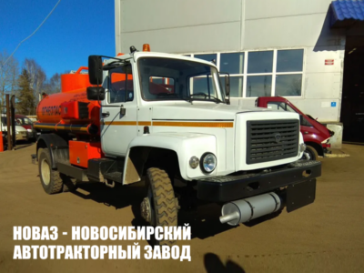 Бензовоз 4,9 м³ (2 секции) на базе ГАЗ 33086 Земляк