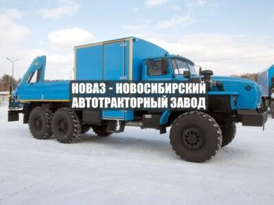 ГПА 6+2 ОТКР. С КМУ ИМ-50 УРАЛ 4320-1951-60