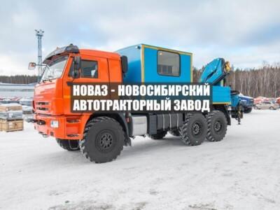 ГПА 6+2 ОТКР. С КМУ ИМ-150 КАМАЗ 43118