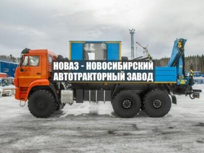 ГПА 6+2 ОТКР. С КМУ ИМ-95 КАМАЗ 43118