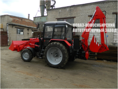 Экскаватор-погрузчик АРАТОР от завода НОВАЗ ЭА-2626М