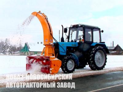 КДМ Аратор на базе трактора Беларус-82.1-23/12 от завода Новаз МТЗ 82