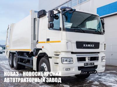 Мусоровоз МКЗ-7017-К3 (HIDRO-MAK) объем кузова 23м3 с портальным механизмом на шасси КАМАЗ 6580-3051-68.