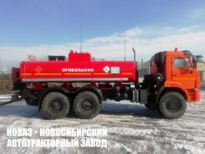 Бензовоз 11 м³ (1 секция) на базе КАМАЗ 43118-50 модели 5875
