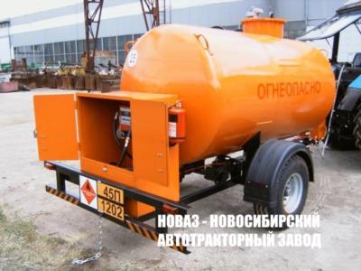 Тракторный полуприцеп-цистерна топливозаправщик ПЦТ-5