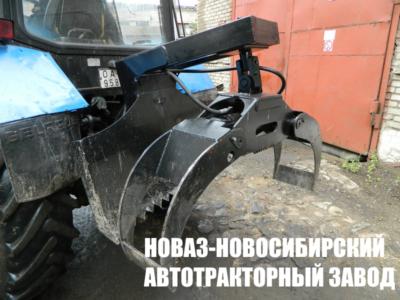 ЗАХВАТ БРЕВЕН НОВАЗ ЗБН-1500 С ПЛИТОЙ