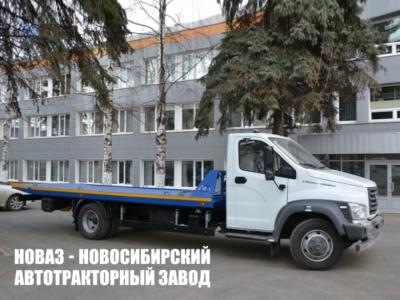 Эвакуатор (сдвижного типа) на базе Газон NEXT C41RB3 10 тонн