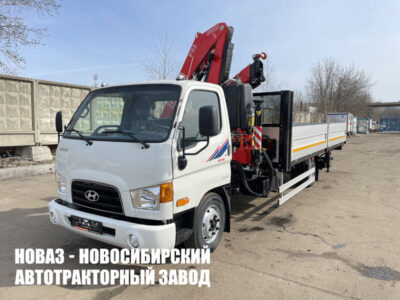 Hyundai HD78 7.5т КМУ Fassi F95B.0.22