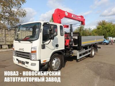 JAC N120 с КМУ UNIC 554 (5 т)