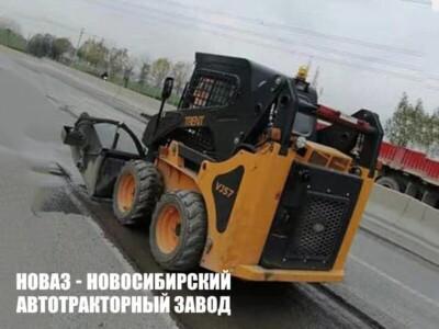 МИНИПОГРУЗЧИК С БОРТОВЫМ ПОВОРОТОМ BAWOO VJ57