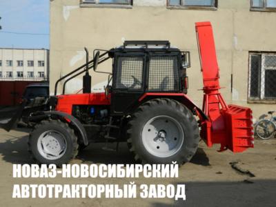 ШНЕКОРОТОР ШРК-2.0-01 НА ЗАДНЮЮ НАВЕСКУ