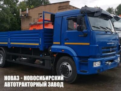 Бортовой грузовик КАМАЗ 65117-6010-48 с платформой 7800х2470х730 мм