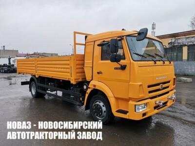 Бортовой автомобиль КАМАЗ 4308-6063-69 с платформой 6112х2470х730 мм