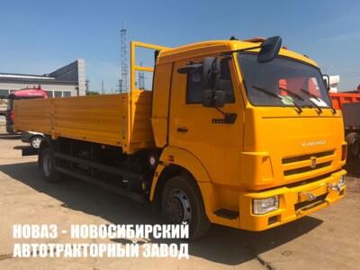 Бортовой автомобиль КАМАЗ 4308-6083-69 с платформой 5162/6112х2470х730 мм