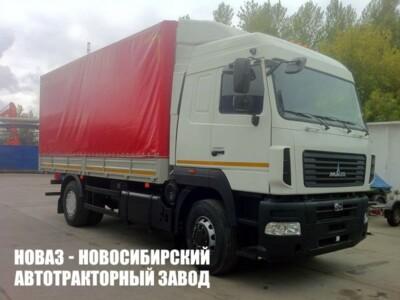 Бортовой фургон с тентом МАЗ 5340C5-8575-000 (ЕВРО 5) новый
