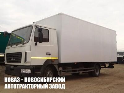 Изотермический фургон на шасси МАЗ 4371C0-540-000 (ЕВРО 5) новый