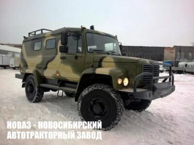 ГАЗ 33081 Вепрь цвет белый, камуфляж — опция