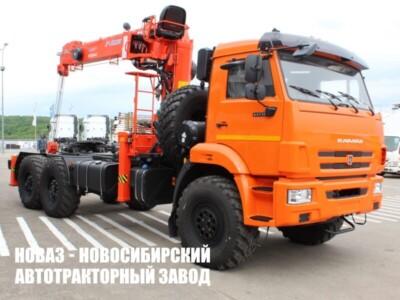 Седельный тягач КАМАЗ 43118 с кму KANGLIM 1256