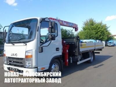 JAC N56 С КМУ MAEDA MC 253 (2,5Т)