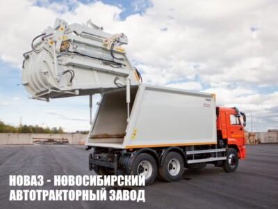 МУСОРОВОЗ С ПОРТАЛОМ KATMERCILER KAT-21S НА ШАССИ КАМАЗ 65115