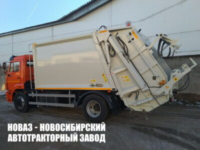 МУСОРОВОЗ KATMERCILER KAT-14 НА ШАССИ КАМАЗ 43253