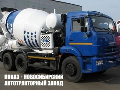 Бетоносмеситель 581471 на базе КАМАЗ 65115-773932-50